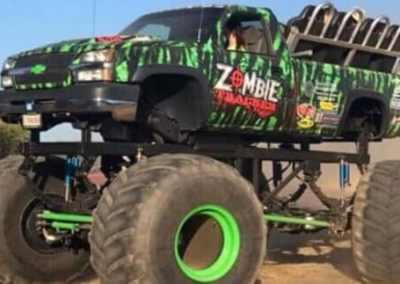 Zombie Tracker Ride Truck