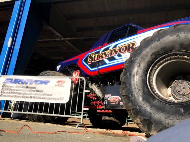Survivor Monster Truck Hot Rod Drive-Thru Adventure