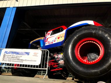 Play'n For Keeps Monster Truck Hot Rod Drive-Thru Adventure