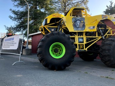 Monster Buddy Mini Monster Truck Hot Rod Drive-Thru Adventure