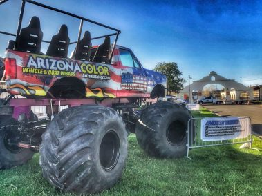American Thunder Monster Truck Hot Rod Drive-Thru Adventure