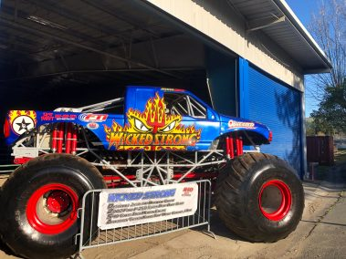 Wicked Strong Monster Truck Hot Rod Drive-Thru Adventure