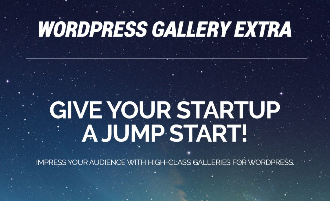 WordPress Gallery Extra 1