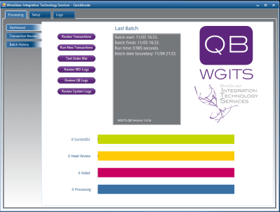 WGits for QuickBooks (WineDirect)