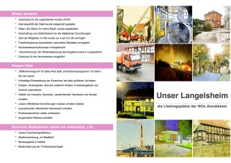 Broschüre Umschlag
