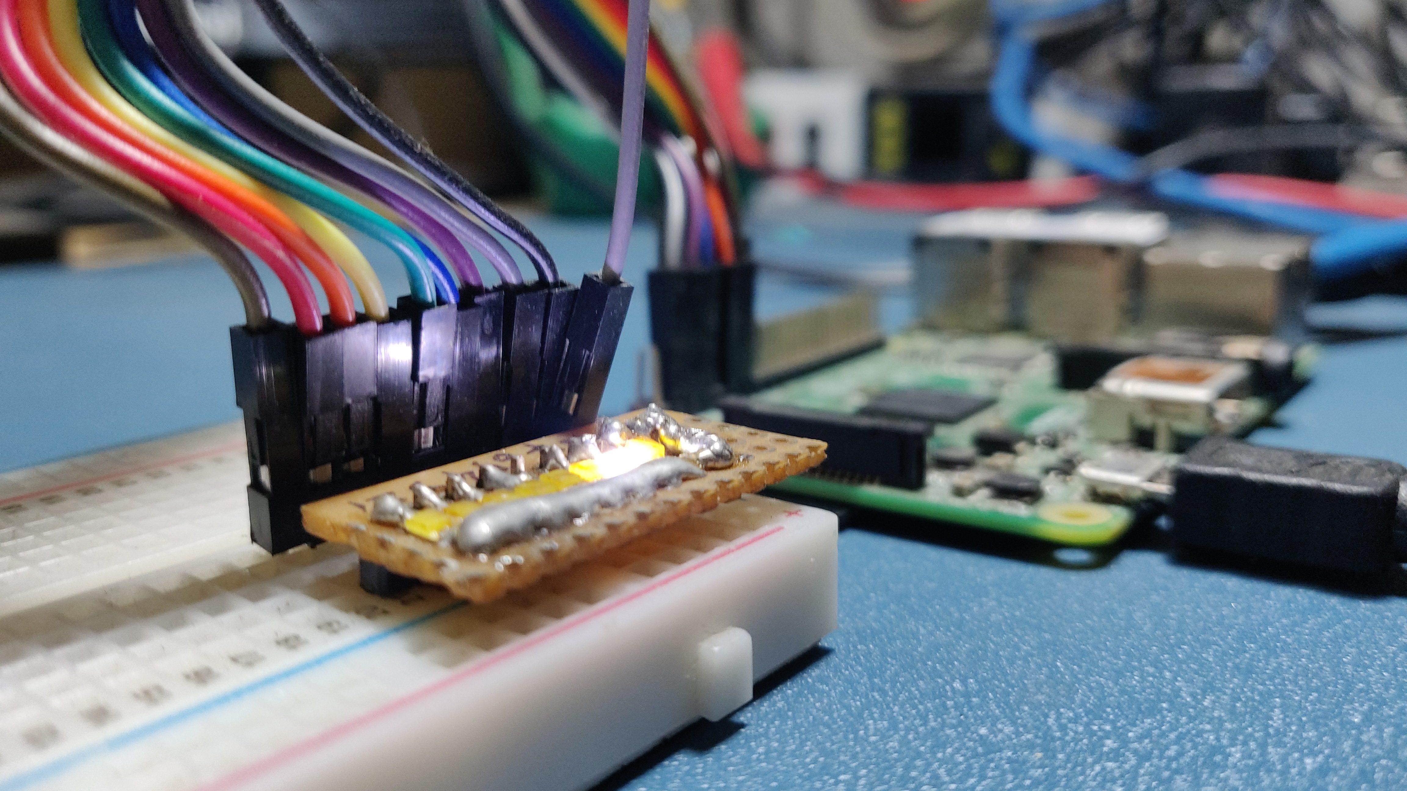 RPi GPIO Programming using Arduino Web IDE