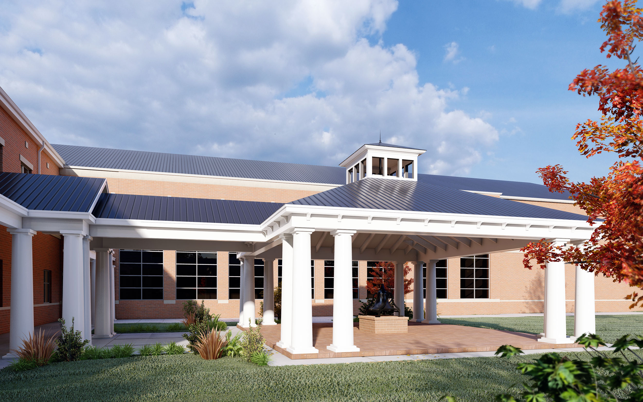 Cape Fear Academy Bell Pavilion