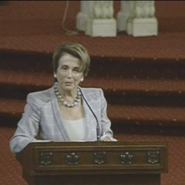 Rep. Nancy Pelosi, of California