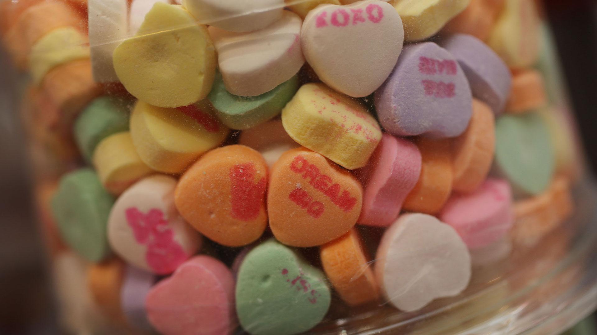 Sweetheart candy hearts