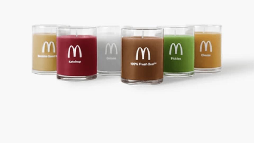 McDonald's candles