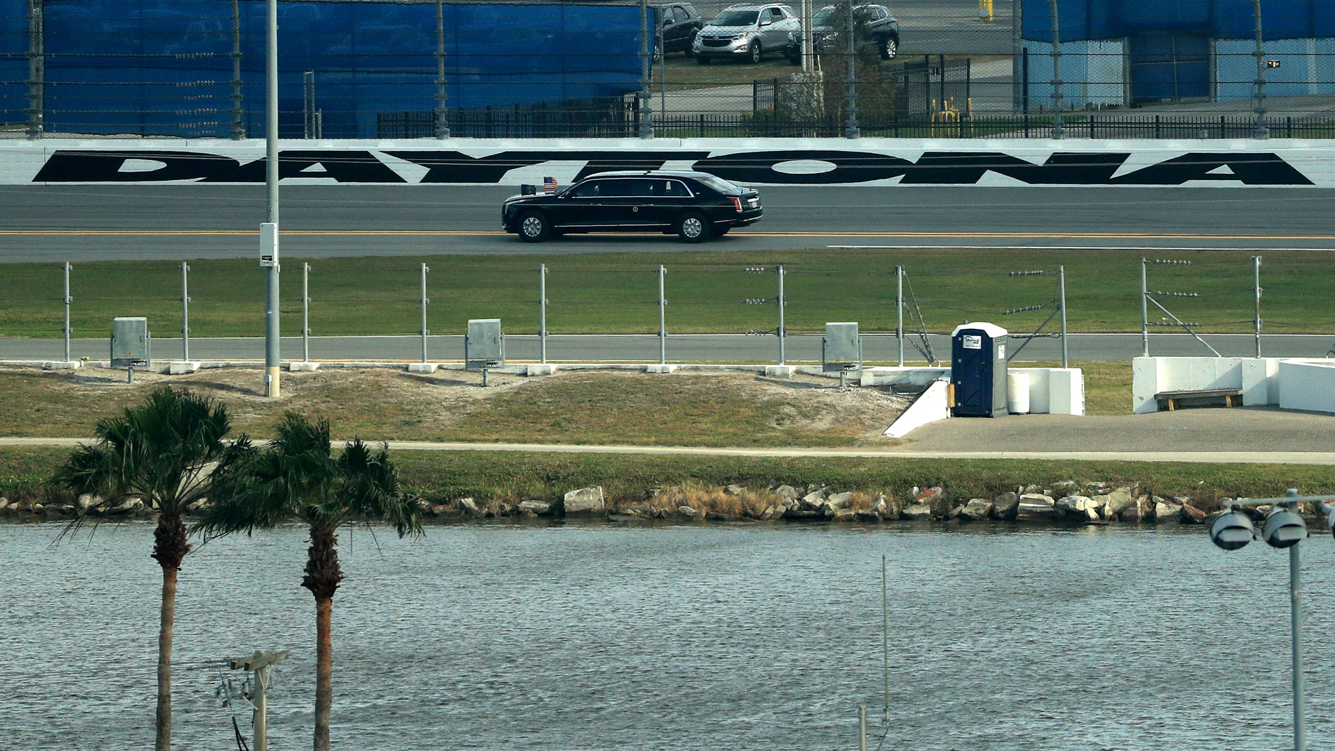 Trump at Daytona 500