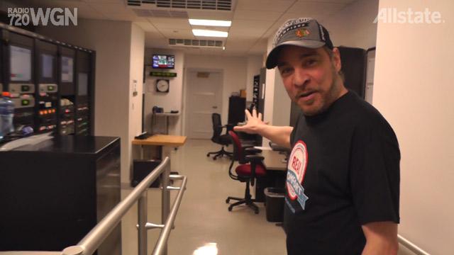 Nick Digilio's Graveyard Shift Tour – Master Control and Fridge