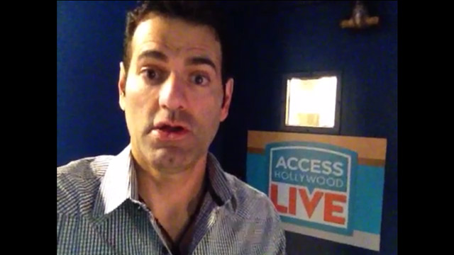 """Pete McMurray – """"Access Hollywood Live"""" Green Room"""