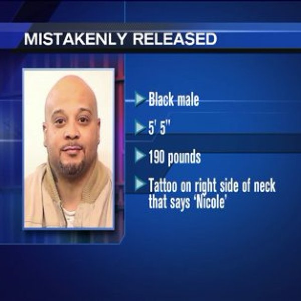 Murderer mistakenly released from Cook County jail