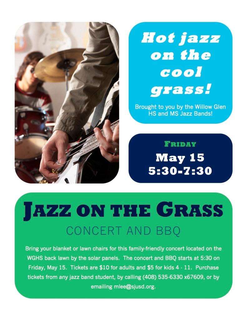 jazz on the grass poster