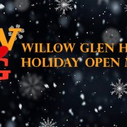 Holiday Open Mic Night