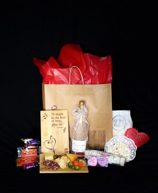 Wine bag contents