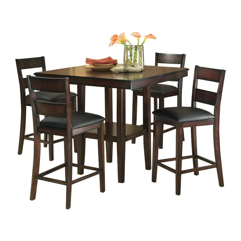 Abigail 5 Pc Counter Height Package Sale Dining Room