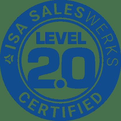 ISA-SalesWerks-Certified-Level-2-Blue