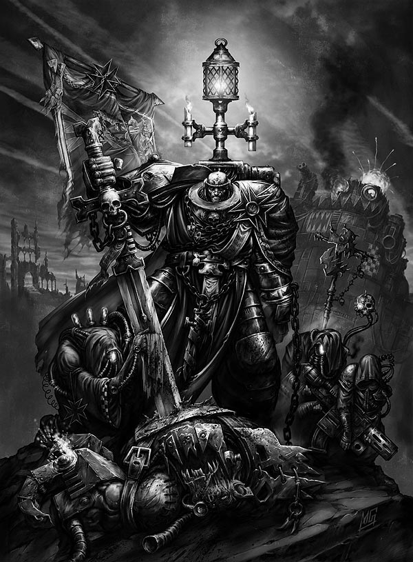 All the main Loyalist Chapter Masters/Heroes. All against all.. (Warhammer 40k) : whowouldwin