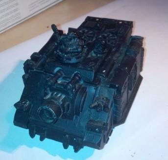 Vindicator model as shipped from eBay