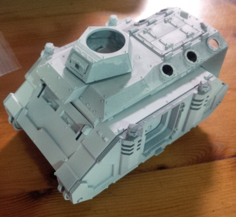 Rhino hull with Chimera Roof I plan to model as a Repressor