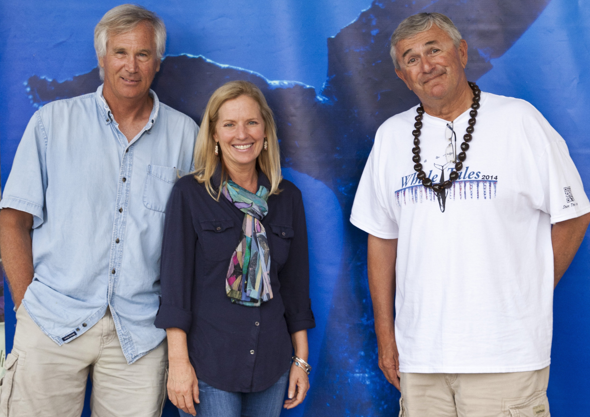 Whale Trust Co-Founders Jim Darling, Meagan Jones, and Flip Nicklin
