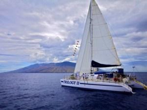 Trilogy Excurision Blue Aina with Whale Trust Maui @ Lahaina Loading Dock