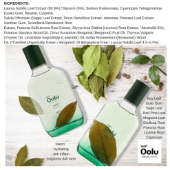 Oolu Bay Leaf Toner