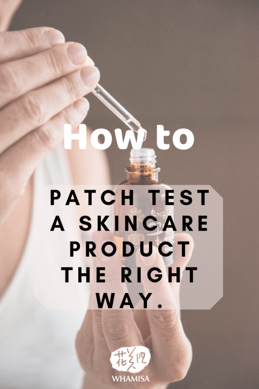 How to patch test product the right way