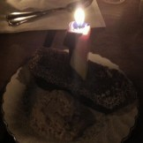 birthday zucchini bread and oatmeal ice cream at the ace