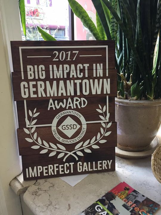 Just wow!!! We are truly touched. Thank you to David Rose and Germantown Special Services District for giving us this award, thank you for the nomination and thank you to all the people that voted for us. We love what we do and we love Germantown!!!   Renny Molenaar
