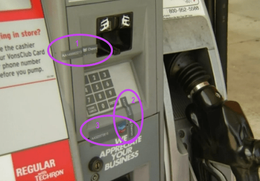 Security Seals at Pump