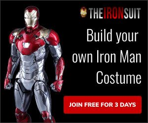 Build your own iron man costume