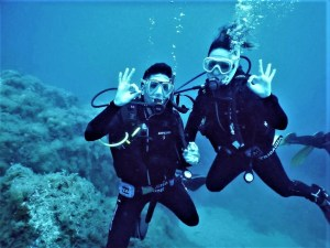 Diving in Blanes for everybody.