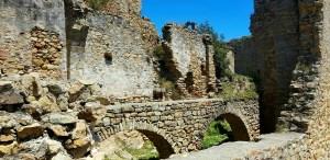 Inside the castle Mas Carbó