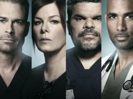 Official Season 2 Promotional Poster from Code Black