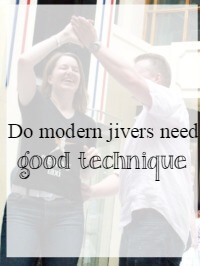modern jive technique