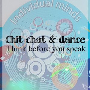 Think before you speak while social dancing