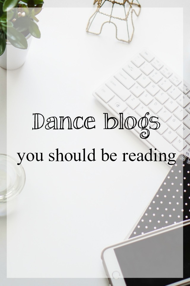 dance blogs you should be reading - What about dance
