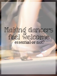 dancers welcome