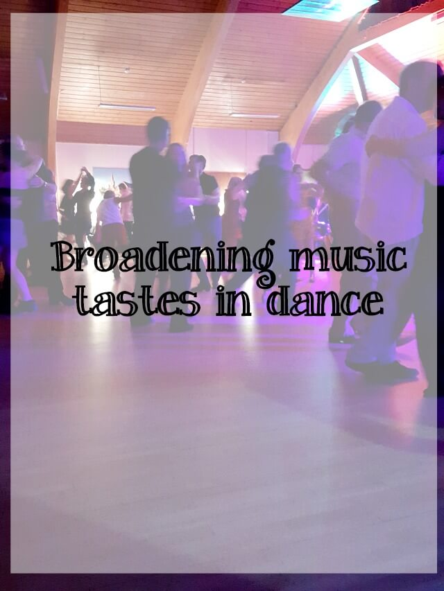 broadening music tastes - what about dance