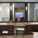 Set Bathroom Vanity Stools Ideas House Generation