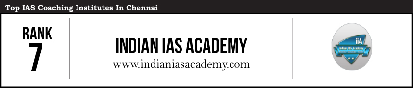Indian IAS -IAS Coaching Institutes in Chennai