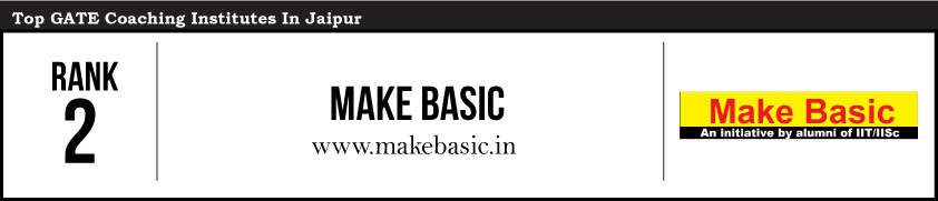 Make Basic-Gate Coaching Institute in Jaipur