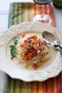 Summer Pasta Sauce
