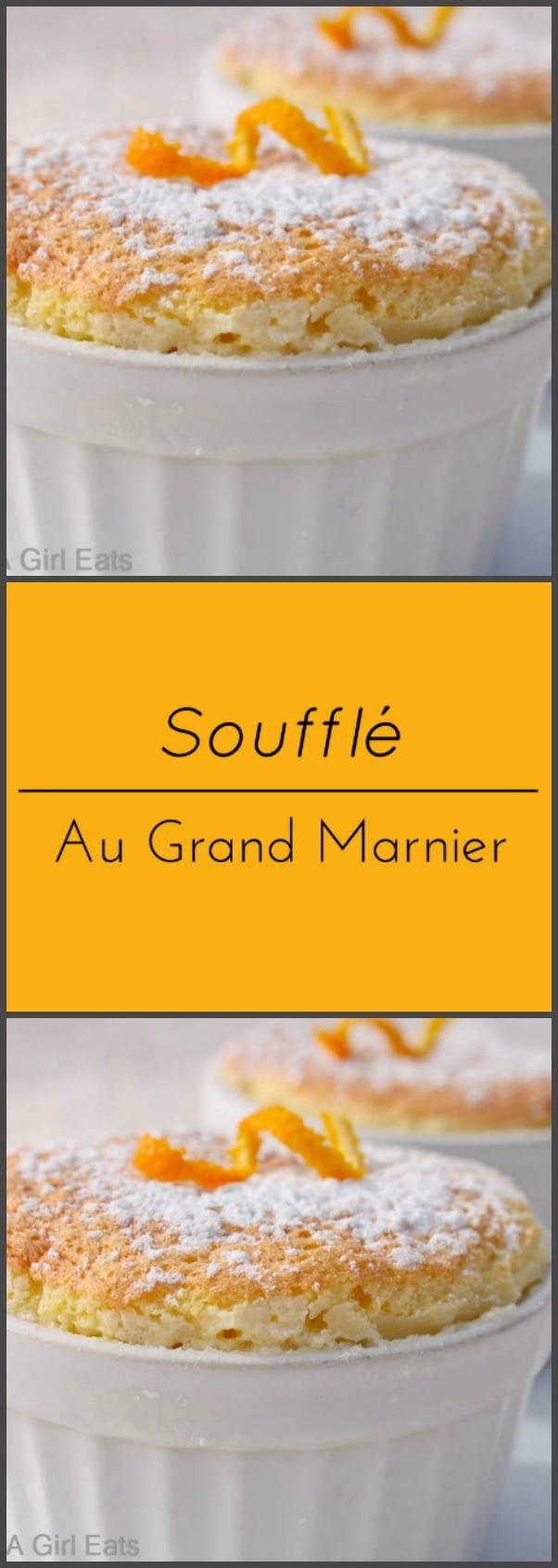 Souffle au Grand Marnier.