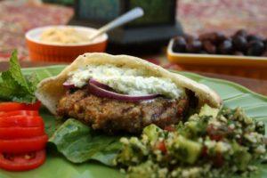 Middle Eastern Burger