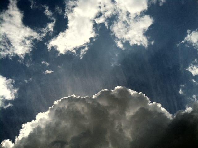 May clouds, Pasadena - 5-2011