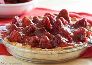 Fresh Strawberry Pie Glace